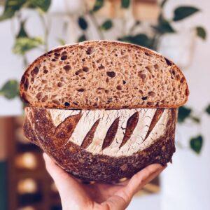świeżo-upieczona-chleb-pszenno-orkiszowy